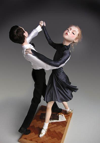 Авторские куклы посвященные танцу